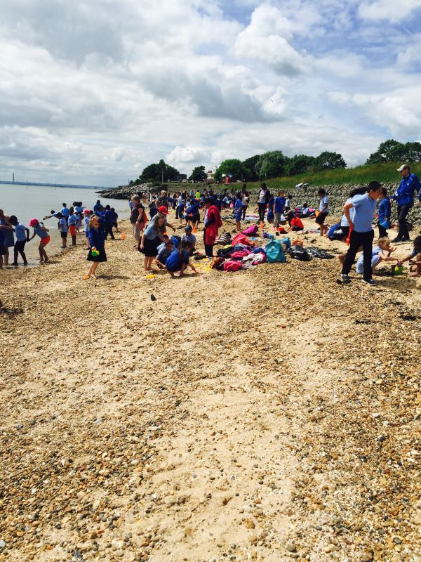 whole school beach trip