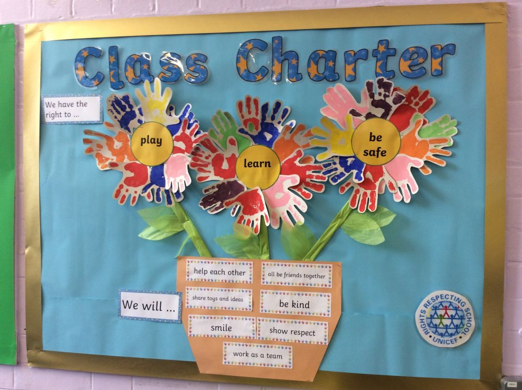 2017  18 rights respecting school class charters