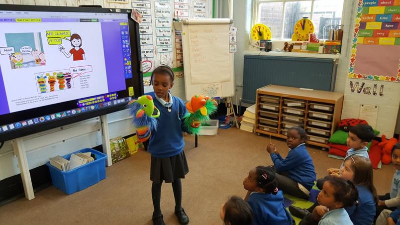 Spanish - Sebright Primary School